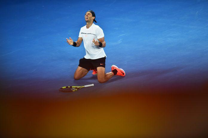 Il rossocrociato supera Rafa Nadal in cinque set a Melbourne