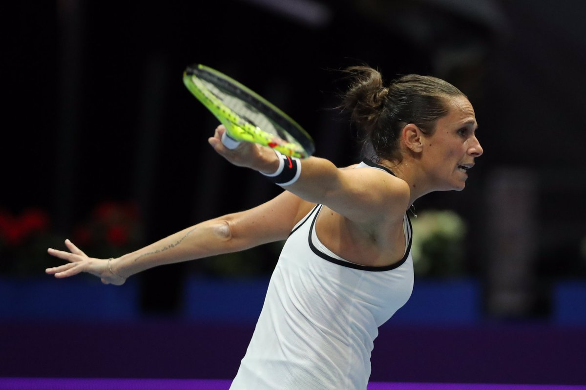 WTA Bogotà, immensa Schiavone. Battuta anche la Arruabarrena
