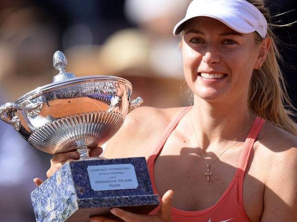 Tennis, Maria Sharapova agli Internazionali d'Italia con una wild card