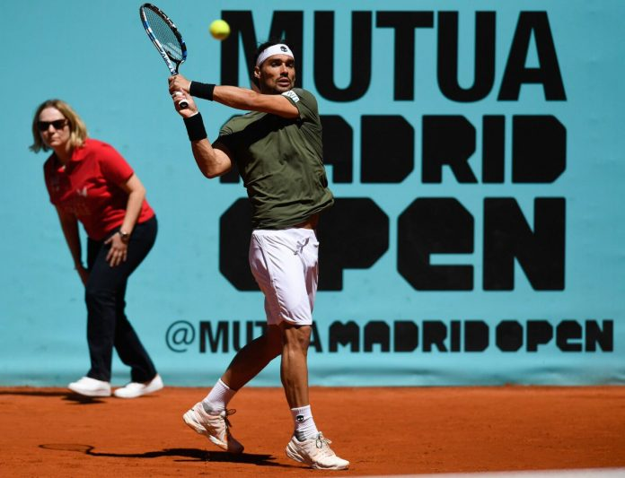 A Madrid Fognini perde dopo 3 ore di lotta con Nadal