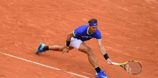 Rafa Nadal day 2 Roland Garros 2017