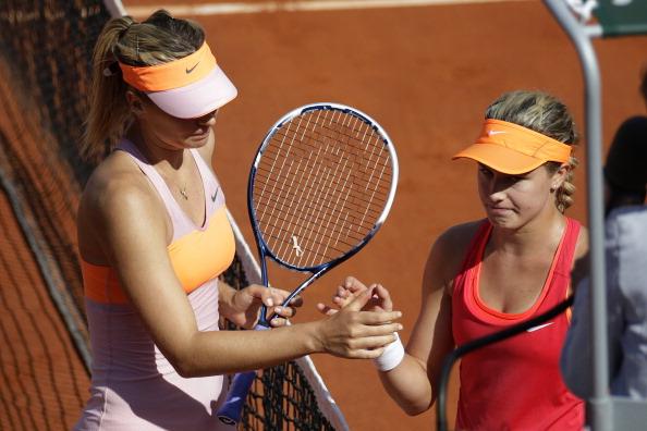 Tennis, a Madrid Bouchard elimina Sharapova