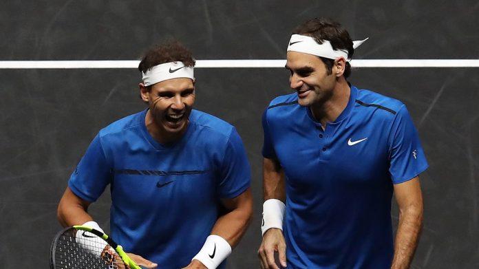 Tennis, Federer e Nadal compagni per il doppio da sogno
