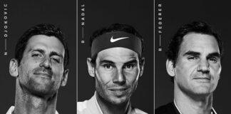 Impietoso confronto tra colleghi del club 20Slam, Federer non ha certo beneficiato di Djokovic e Nadal